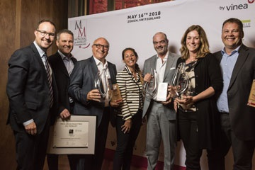 "Switzerland wins four ""Great Gold"" medals in the 2018 Mondial du Merlot et Assemblages competition."